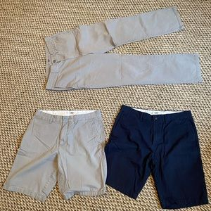 Bundle mens pants and shorts